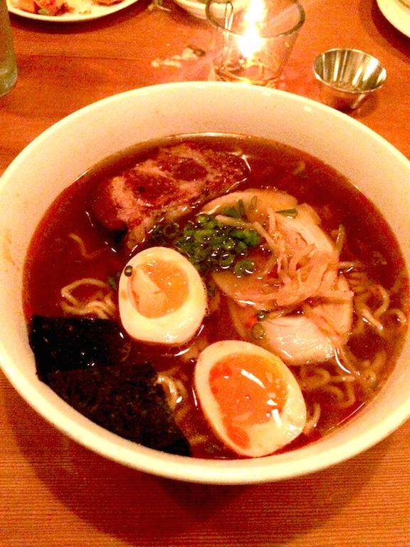 Japanese noodle dish from biwa